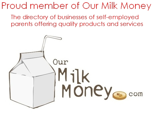 Proud member of Our Milk Money, the directory of businesses owned by self-employed parents